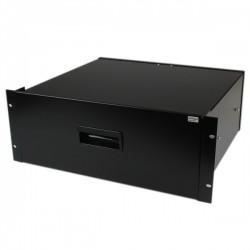 StarTech.com - Cajon Metálico Acero Negro 4U 19in Pulgadas para montar en Armario Rack Bastidor