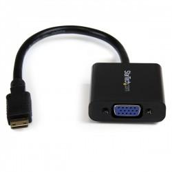 StarTech.com - Adaptador Conversor Mini HDMI a VGA para Cámara Fotográfica Digital / Videocámara - 1920x1080
