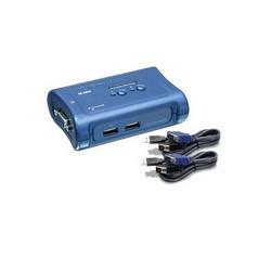 Trendnet - TK-207K interruptor KVM Azul