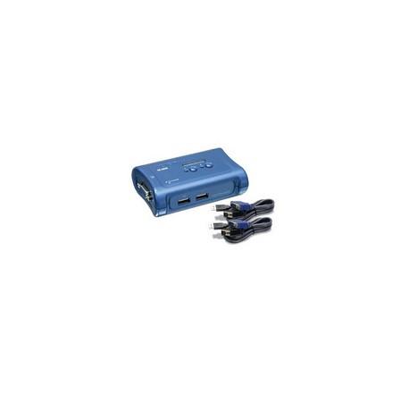 Trendnet - TK-207K Azul interruptor KVM