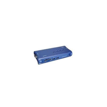 Trendnet - TK-407K Azul interruptor KVM