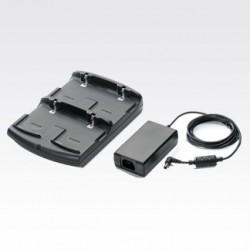 Zebra - SAC5500-401CES cargador de batería Negro Cargador de baterías para interior