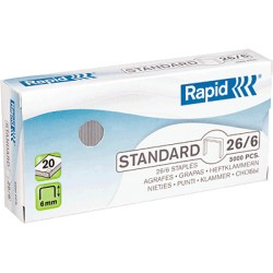 Rapid - RAP C.5000 GRAPAS 26/6 BLUE GA L 24861800