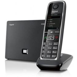 Gigaset - C530 IP Terminal inalámbrico Negro teléfono IP