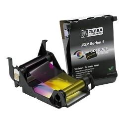 Zebra - 800011-140 cinta para impresora 100 páginas Negro, Cian, Magenta, Amarillo