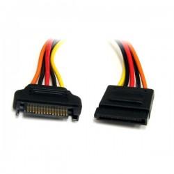 StarTech.com - Cable de 30cm de Extensión de Alimentación Corriente SATA - 15 pines