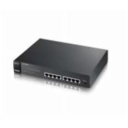 ZyXEL - ES1100 Conmutador de red no administrado Energía sobre Ethernet (PoE) 1U Negro