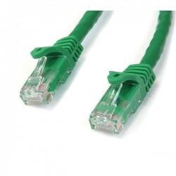 StarTech.com - Cable de 1m Verde de Red Gigabit Cat6 Ethernet RJ45 sin Enganche - Snagless