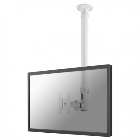 "Newstar - FPMA-C100WHITE 30"" Blanco soporte de techo para pantalla plana"