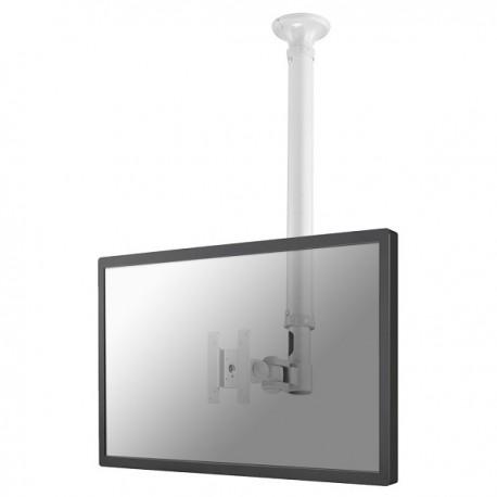 "Newstar - FPMA-C100WHITE 30"" Color blanco soporte de techo para pantalla plana"