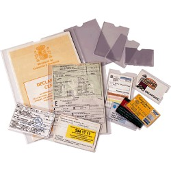 Esselte - ESD C.100 PORTACARNET PVC 87X56MM 46001