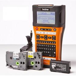 Brother - PT-E550WVP impresora de etiquetas 180 x 180 DPI Inalámbrico y alámbrico HSE/TZe QWERTY