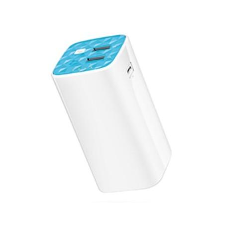 TP-LINK - TL-PB10400 10400mAh Azul, Color blanco batería externa