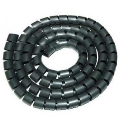 Nilox - AMLIHC20-B Negro protector de cable