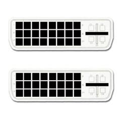 MCL - -D Male/Male Dual Link 2m cable DVI DVI-D