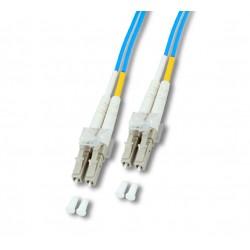 Neklan - OM3 LC/LC - 7m cable de fibra optica Azul