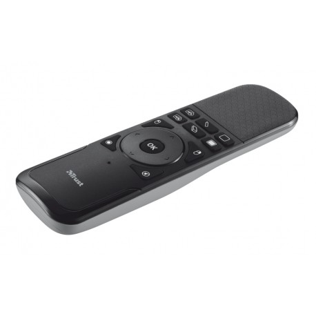 Trust - Wireless Touchpad Presenter IR Negro, Gris apuntador inalámbricos