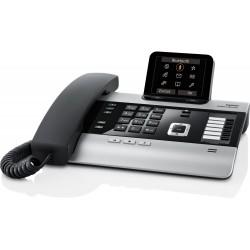 Gigaset - DX800A all in one Teléfono analógico Negro, Plata
