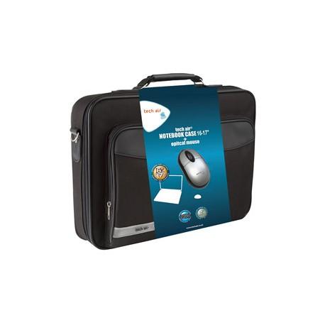 "Tech air - TABUN33M 17.3"" Maletín Negro maletines para portátil"