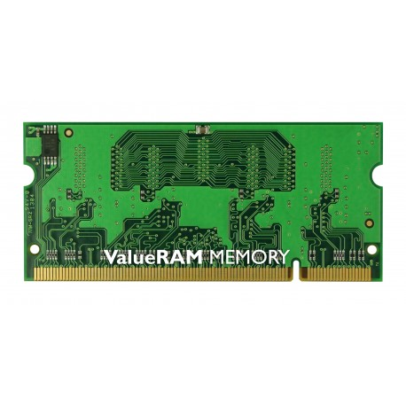 Kingston Technology - ValueRAM 1GB 667MHz DDR2 Non-ECC CL5 SODIMM 1GB DDR2 667MHz módulo de memoria