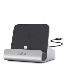 Belkin - Express Dock estación dock para móvil Tableta Negro, Plata