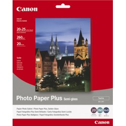 Canon - SG-201 - 20x25cm Photo Paper Plus, 20 sheets papel fotográfico