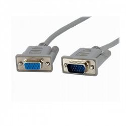 StarTech.com - Cable de 3m de Extensión de Vídeo VGA para Pantalla Macho a Hembra