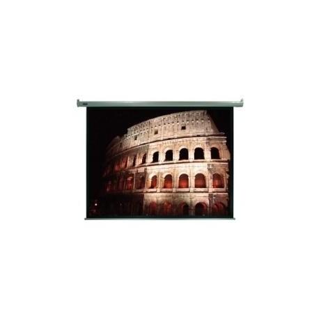 """Plus Screen - Pantalla proyector electrica 4:3 203x152 100"""" 100"""" 4:3 Blanco pantalla de proyección"""