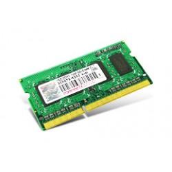 Transcend - 4GB DDR3 204-pin SO-DIMM Kit 4GB DDR3 1066MHz módulo de memoria