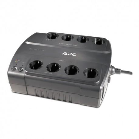 APC - BE700G En espera (Fuera de línea) o Standby (Offline) 700VA Negro sistema de alimentación ininterrumpida (UPS