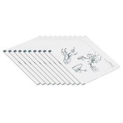 DataCard - 552141-002 limpiador de impresora Hoja de limpieza para impresora