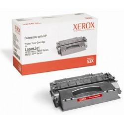 Xerox - Cartucho de tóner negro. Equivalente a HP Q7553X. Compatible con HP LaserJet P2015