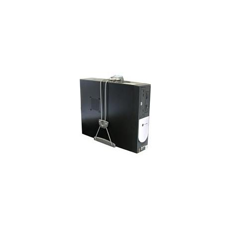 Ergotron - Universal CPU Holder Desk-mounted CPU holder Gris
