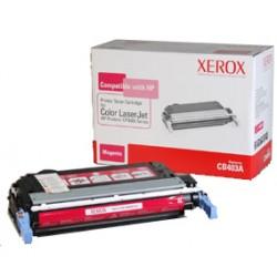 Xerox - Cartucho de tóner magenta. Equivalente a HP CB403A. Compatible con HP Colour LaserJet CP4005