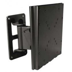 TooQ - SOPORTE GIRATORIO E INCLINABLE PARA MONITOR/TV LCD, PLASMA DE 10-32, NEGRO