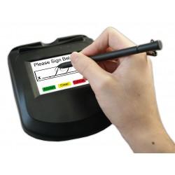 ID TECH - uSign 300 RS-232, USB-HID Negro