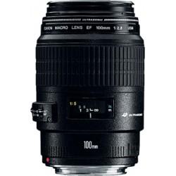 Canon - EF 100mm f/2.8 Macro USM SLR Objetivos macro Negro