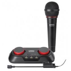 Creative Labs - Sound Blaster R3 grabadora de audio digital 24 bit 48 kHz Negro, Rojo