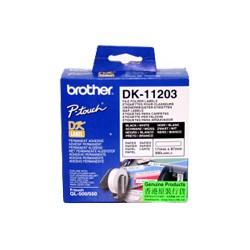 Brother - Etiquetas precortadas para carpetas (papel térmico) cinta para impresora de etiquetas