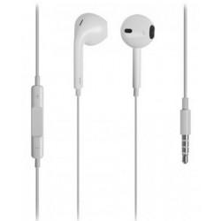 L-Link - LL-AM-101-B Dentro de oído Binaural Alámbrico Blanco auriculares para móvil