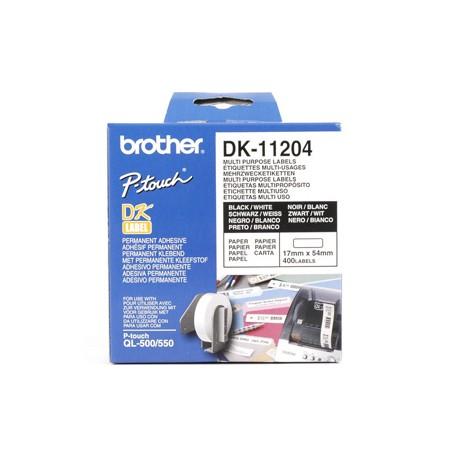 Brother - DK-11204 Multi Purpose Labels