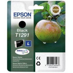 Epson - Apple Singlepack Black T1291 DURABrite Ultra Ink