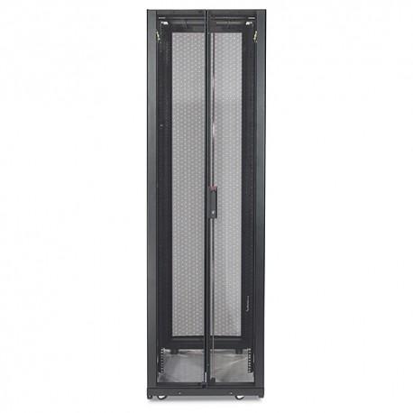 APC - NetShelter SX 42U 600mm Wide x 1070mm Deep Enclosure with Sides Black Negro estante