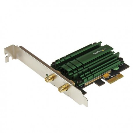 StarTech.com - Tarjeta de Red Inalámbrica PCI Express AC1200 Wifi de Banda Doble - Adaptador PCI-E 802.11ac