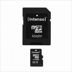 Intenso - 32GB MicroSDHC memoria flash Clase 10
