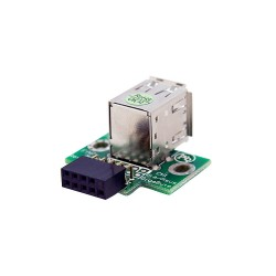 StarTech.com - Adaptador Header USB de 2 Puertos para Placa Base