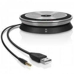 Sennheiser - SP 20 altavoz Universal Plata USB 2.0