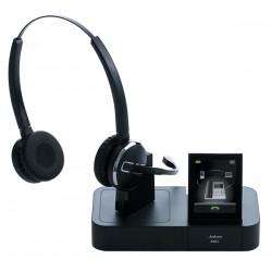 Jabra - Pro 9460 Duo Binaurale Negro auricular con micrófono