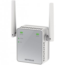 Netgear - EX2700-100PES ampliador de red Network repeater Blanco