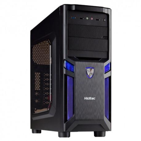 Hiditec - ALU925 GAMING Negro carcasa de ordenador